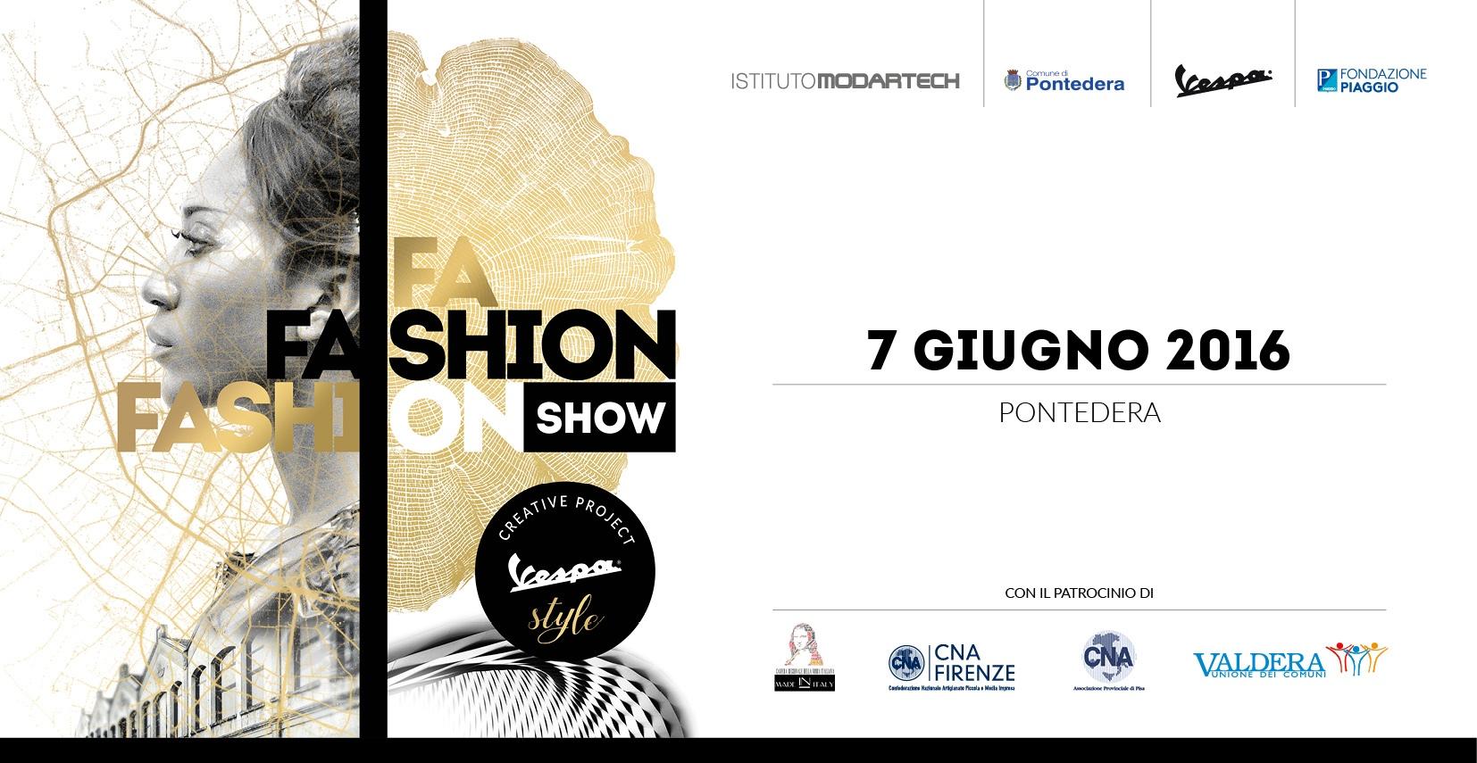 Cartolina fashion show