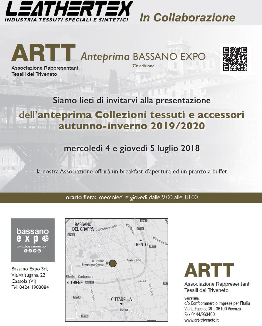 Invito Locandina Bassano expo LTX