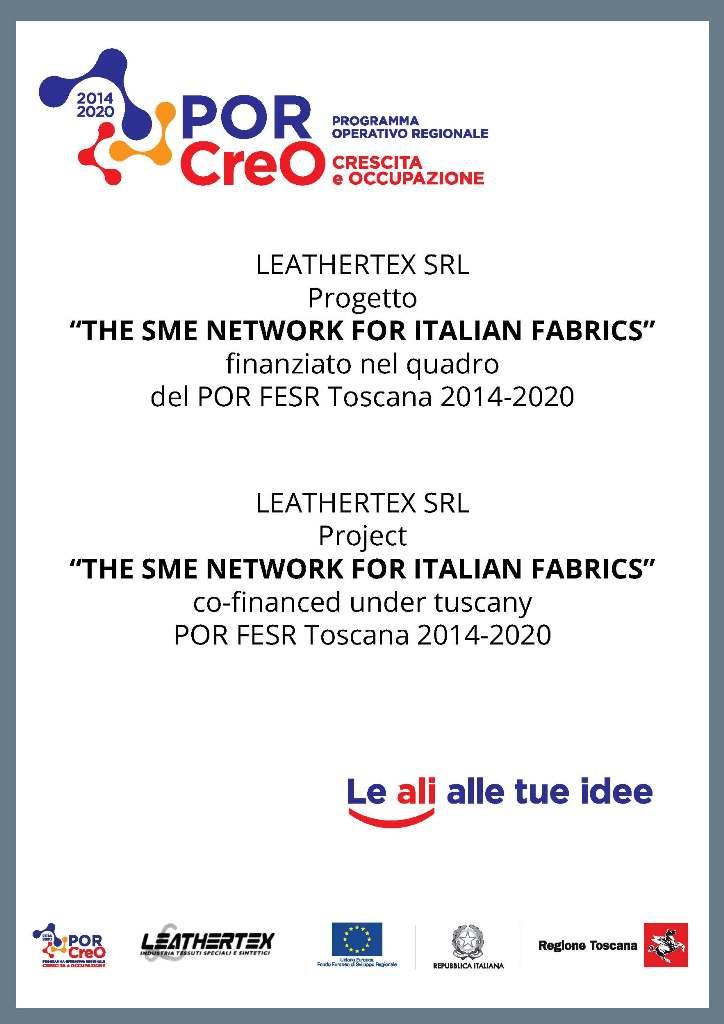 Poster Por Creo Leathertex 2020