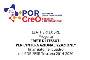 Rete di tessuti per l'Internazionalizzazione 2018 POR CREO