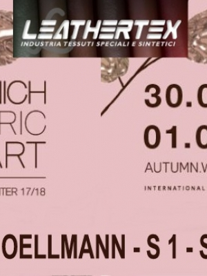 MUNICH FABRIC START AUTUNNO INVERNO 17