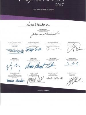 Oscar del tessile alla creatività della Leathertex